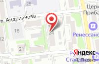 Схема проезда до компании Ивановолифт-Сервис в Иваново