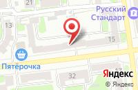 Схема проезда до компании Мираж в Иваново