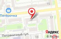Схема проезда до компании Мастак в Иваново
