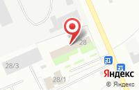 Схема проезда до компании Эргана в Костроме