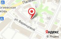 Схема проезда до компании Александров & КО в Иваново