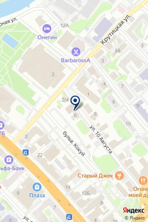 ВЕБ ПРОЕКТ на карте Иваново