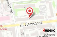 Схема проезда до компании Винтаж в Иваново