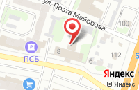 Схема проезда до компании Август в Иваново