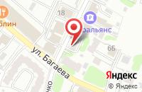 Схема проезда до компании ТаФи в Иваново