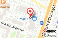 Схема проезда до компании Глобус мебель в Иваново