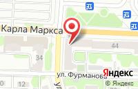 Схема проезда до компании Орбита-сервис в Иваново