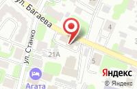 Схема проезда до компании Комплекс-Плюс в Иваново