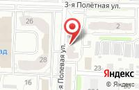 Схема проезда до компании Магия Красоты в Иваново