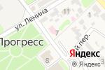Схема проезда до компании Центральная районная больница Новокубанского района в Прогрессе