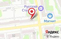Схема проезда до компании Домовая кухня в Иваново