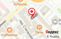 Схема проезда до компании Юмакс в Иваново