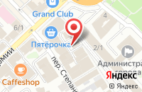 Схема проезда до компании Ладушка в Иваново