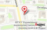 Схема проезда до компании Рандеву в Иваново