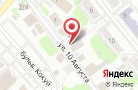 Схема проезда до компании Хадзуки в Иваново