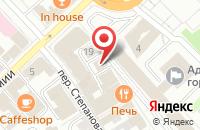Схема проезда до компании Olof в Иваново