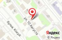 Схема проезда до компании Рина в Иваново