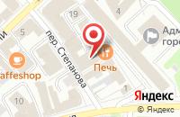 Схема проезда до компании Модница в Иваново