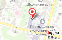 Схема проезда до компании ИВПЭК в Иваново