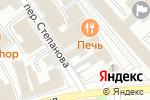 Схема проезда до компании Мэрилин в Иваново