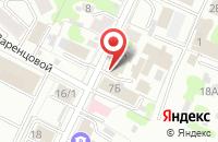 Схема проезда до компании Грундфос в Иваново
