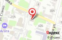Схема проезда до компании Юлия в Иваново