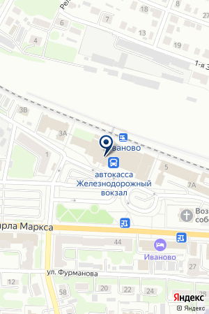 АВИАКАССА на карте Иваново