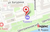 Схема проезда до компании Турист в Иваново