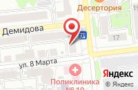 Схема проезда до компании Блюз в Иваново