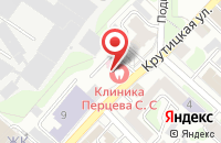Схема проезда до компании Стоматологическая клиника Перцева в Иваново