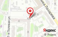 Схема проезда до компании ЮлА в Иваново