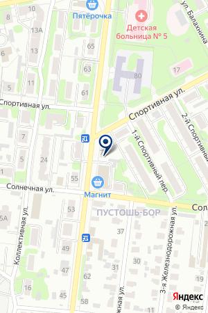ИВАНОВСКОЕ ОТДЕЛЕНИЕ №24 Ф ПОЧТА РОССИИ на карте Иваново