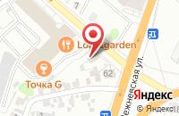 Схема проезда до компании Мастер мебель в Иваново