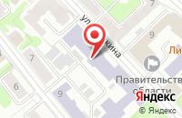 Схема проезда до компании Журавинка в Иваново