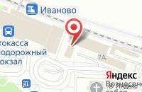 Схема проезда до компании Почтовое отделение №41 в Иваново