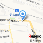 Иваново на карте Иваново