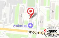 Схема проезда до компании Саша в Иваново