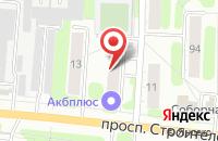Схема проезда до компании Бархат в Иваново