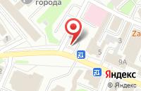 Схема проезда до компании Фольга в Иваново