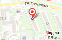 Схема проезда до компании Соланж в Иваново