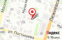 Схема проезда до компании Вознесенские бани в Иваново