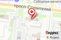 Схема проезда до компании ГЕФЕСТ в Иваново