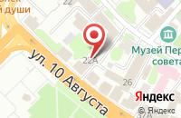 Схема проезда до компании Таис в Иваново