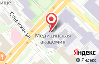 Схема проезда до компании ИвГМА в Иваново