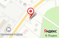 Схема проезда до компании Чайка в Костроме