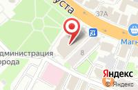Схема проезда до компании Эстет в Иваново