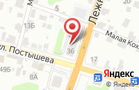 Схема проезда до компании Askona в Иваново