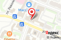 Схема проезда до компании Диамед в Иваново