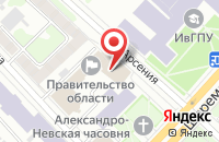 Схема проезда до компании Бульвар в Иваново