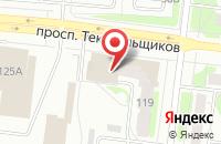 Схема проезда до компании Центр швейной техники в Иваново
